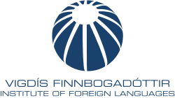 Vigdis Finnbogadottir Insititute of Foreign Languages logo.