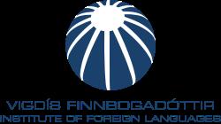 Vigdis Finnbogadottir Insititute of Foreign Languages logo.